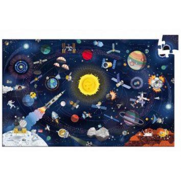 puzzle espacio djeco