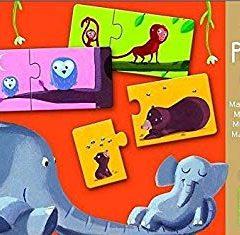 Puzzle duo Mamá y bebé Djeco