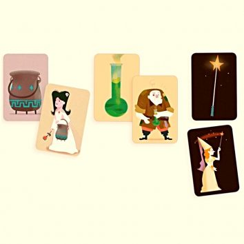 Cartas Magic School Djeco