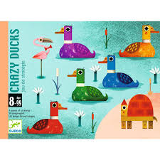Cartas Crazyducks Djeco