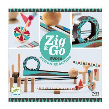 Zig&Go acción reacción Djeco