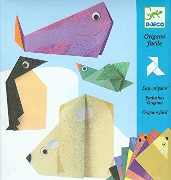 Origami animales polares djeco
