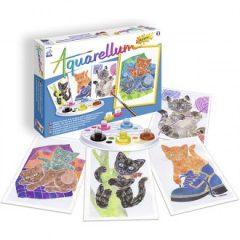 aquarellum gatitos