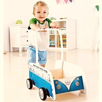 Andador Volkswagen azul Hape