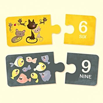 Numbers puzzle educativo