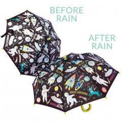 Paraguas cambia de color Espacio