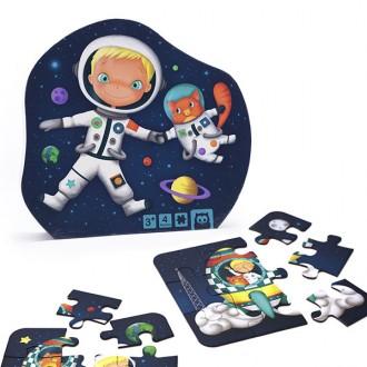 Puzzle evolutivo astronauta