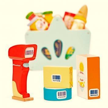 Cesta de la compra y escáner Le Toy Van