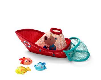 Barco de pesca Lilliputiens