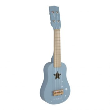 Guitarra azul Little Dutch