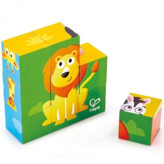 Puzzle cubos Selva Hape