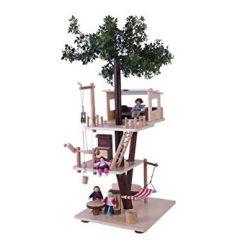 Cabaña árbol