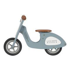 Scooter azul Little dutch