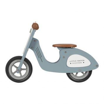 Scooter azul Little dutch