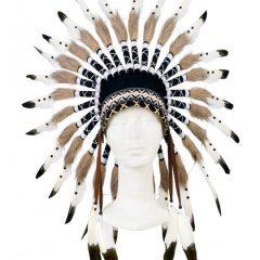 Penacho jefe indio Itunha