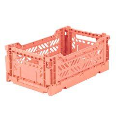 Caja Lillemor plgable mediana Salmon Pink