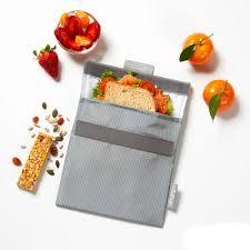 Porta snack Active gris