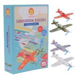 """Kit vintage """"Aviones de papel"""""""