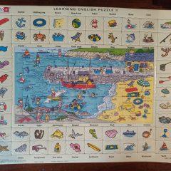 Puzzle Aprende inglés Mar