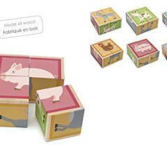 Puzzle de cubos Animales