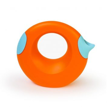 Regadera naranja y azul clarito Quut