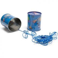 Telefono de lata
