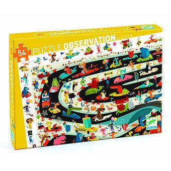 Puzzle de observacion rallye de coches