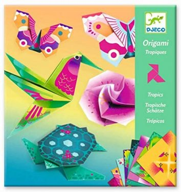 Origami tropical