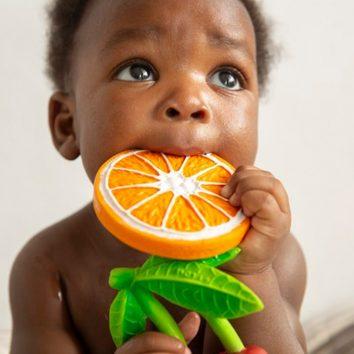 Mordedor naranja