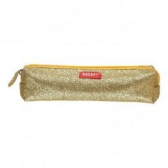 Estuche con purpurina color oro de Bakker made with love