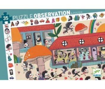Puzzle Escuela de erizos
