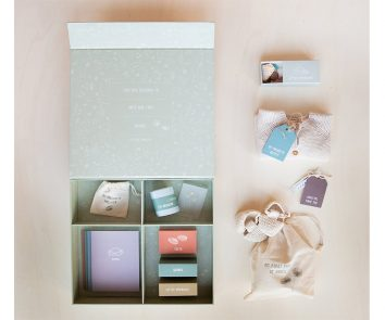 Caja de recuerdos bebé de Little Dutch