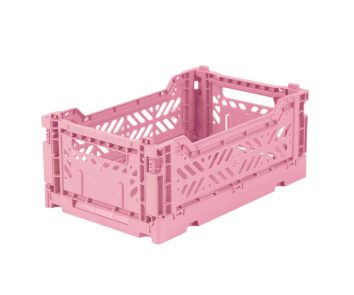 Caja plegable mini rosa