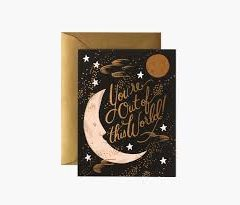 Postal You are out of this world de Rifle Paper co