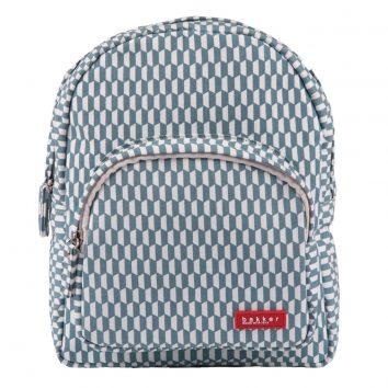 Mini mochila en azul y blanco de Bakker made with love
