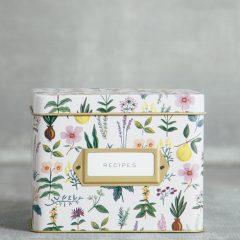 Caja de recetas Herb Garden de Rifle Paper co