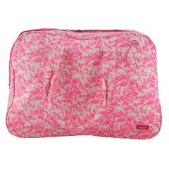 Bolsa de fin de semana rosa de Bakker made with love