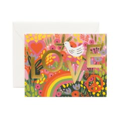 Postal All You Need is love de Rifle Paper co