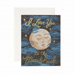 Postal to the Moon & Back de Rifle Paper co