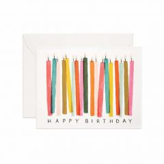 Postal cumpleaños de 108 x 140 mm de Rifle Paper co