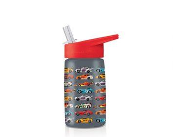 Botella de tritán coches de carreras