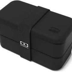Caja de almuerzo Monbento en color negro