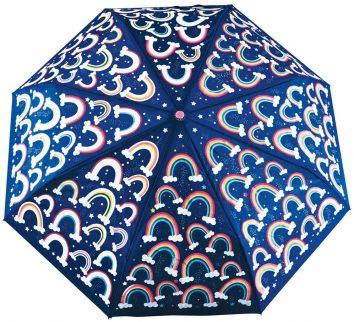 Paraguas cambia de color más grandes arco iris de Floss and Rock