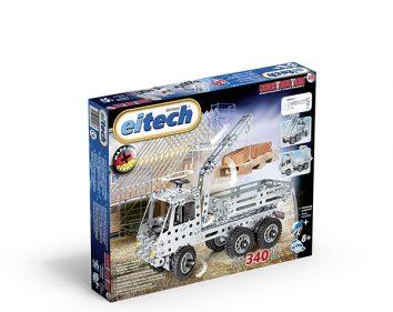 eitech Truck with crane arm