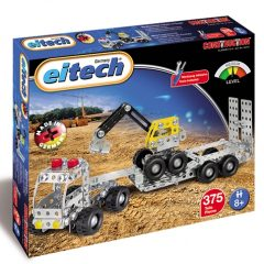 Eitech Truck with trailer/digger