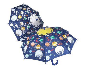 Paraguas cambia de color espacio de Floss and Rock