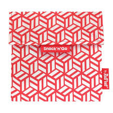 Portabocatas tiles rojo Snack and go de Roll´eat