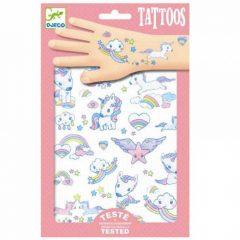 Tatuajes de unicornio de Djeco