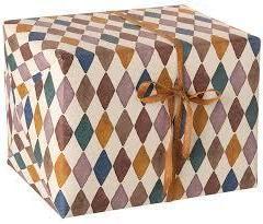 Papel de regalo Harlequin 10 m de Maileg