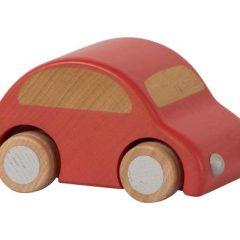 Coche de madera rojo de Maileg